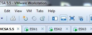 VSAN Setup in VMware Workstation Part 1 - Initial Lab preparation