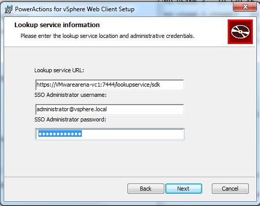 PowerActions for vSphere web Client-2