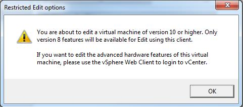 Restricted Edit -vSphere Client-2