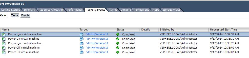 Restricted Edit -vSphere Client-4