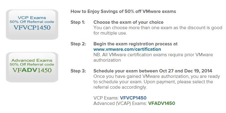 VCP Discount Offer