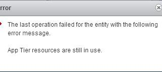 VMware NSX - Unable to Delete/Remove NSX Logical Switch