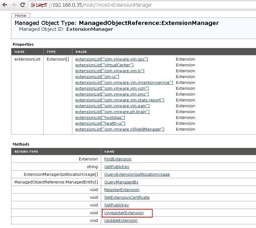 NSX Manager Extension Removal from vCenter_3