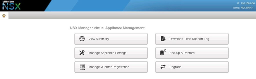 NSX integration with vCenter-2