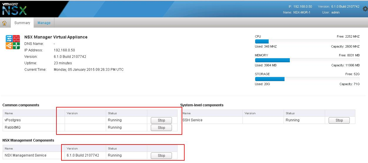 VMware NSX Installation Part 3 – Integrating NSX Manager ...