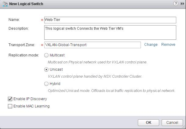 VMware NSX-Logical Switch Creation -3
