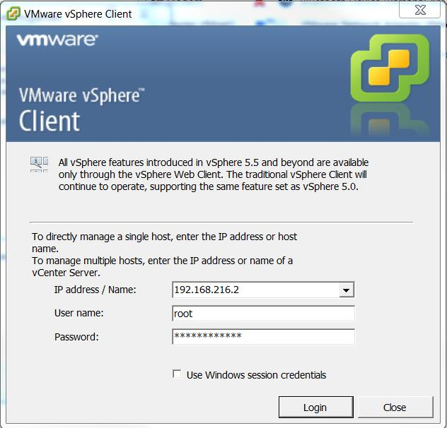 vmware upgrade license key from 5 to 6
