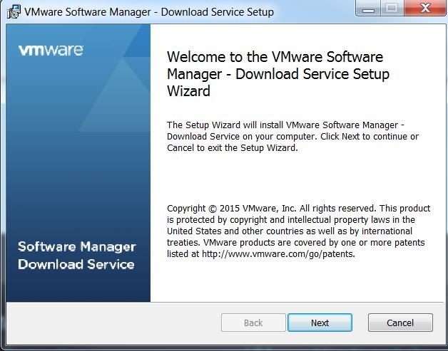 VMware Software Manager- Download VMware vSphere 6 0 Just in a