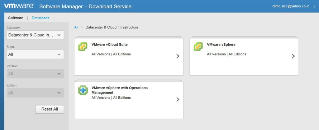VMware software Manager_8