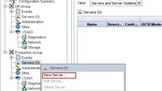 VMware SRM 6.0 Array Based Replication Part 4 – Adding ESXi host to HP VSA Management Group and Presenting Storage to ESXi