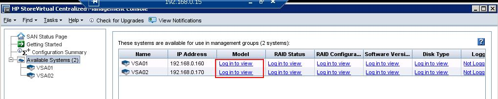 HP StoreVirtual Mgmt Group Configuration_2