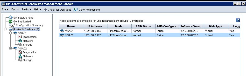 HP StoreVirtual Mgmt Group Configuration_3