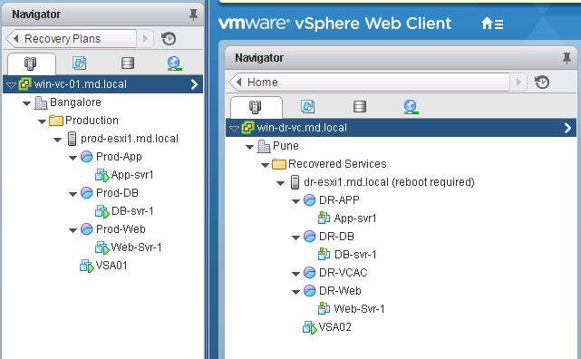 VMware SRM- Running Test Recovery Cleanup_6