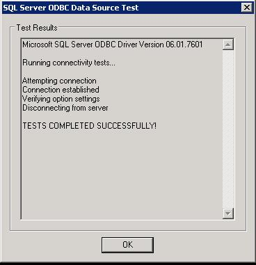 Create ODBC Connection for Horizon View Composer Installation _9