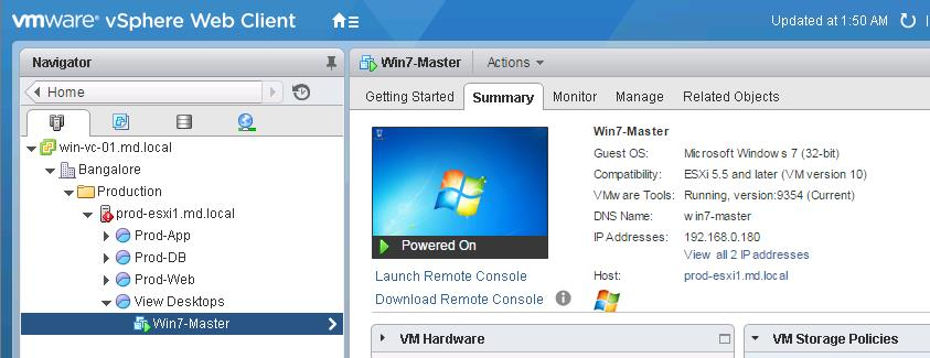 download vmware remote console