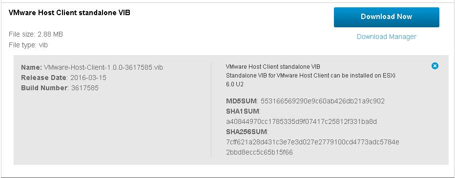 Download and Install VMware Host Client_2