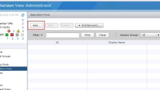 Creating RDS Hosted application pools