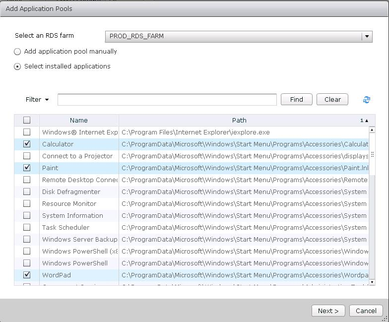 Add-Application-pools-Vmware-view-2
