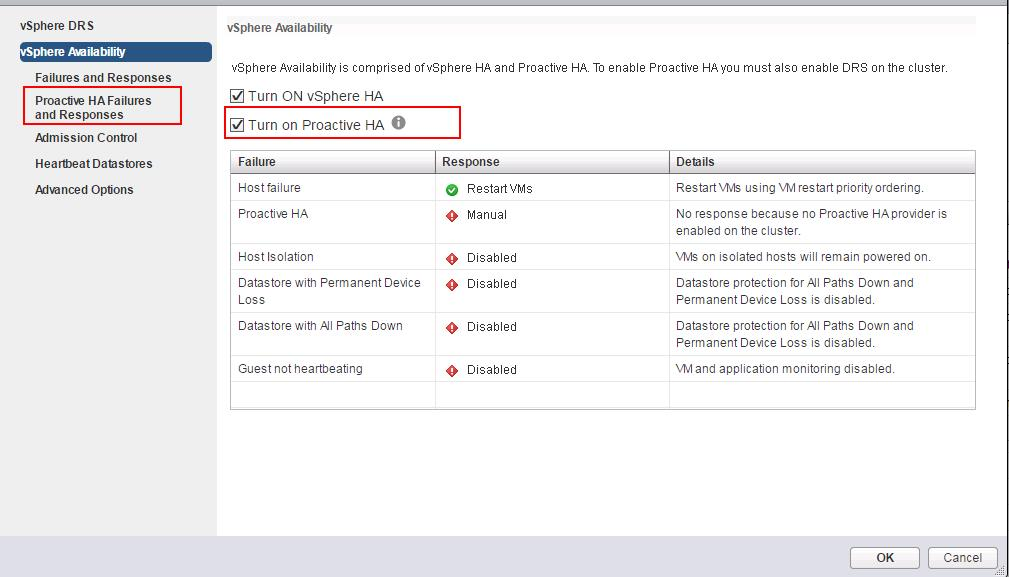vSphere 6.5 High Availability_Proactive HA_2