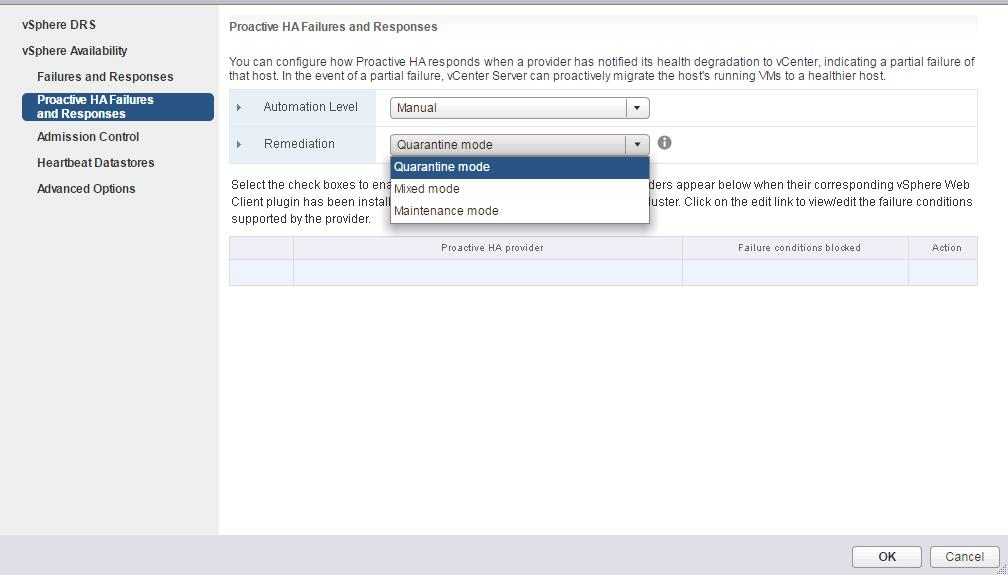 vSphere 6.5 High Availability_Proactive HA_4