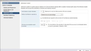 VMware vSphere 6.5 HA Admission Control - What's New?