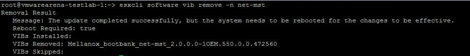 ESXi 6.5 upgrade -Conflicting VIBS_3