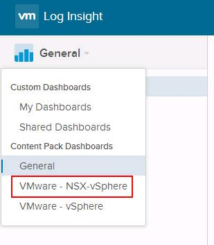 Install the vRealize Log Insight Content Pack for NSX for vSphere_6