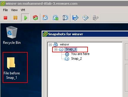 Reverting VMware Snaphot One level above the Current Snapshot_3