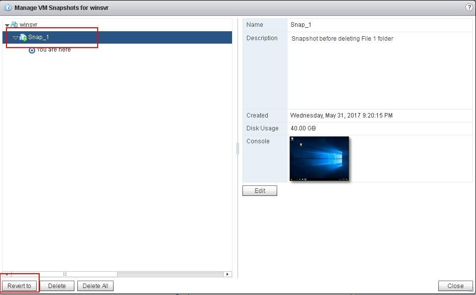 Reverting VMware Snapshots_5