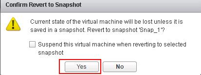Reverting VMware Snapshots_6