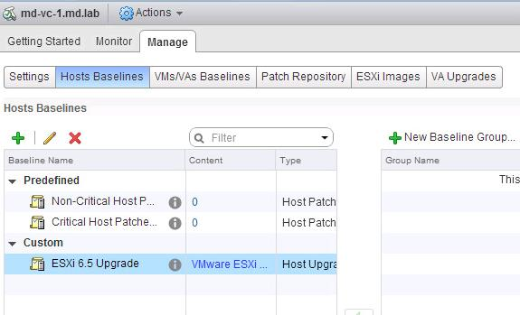 How to Upgrade ESXi 6 0 to ESXi 6 5 using VMware Update Manager