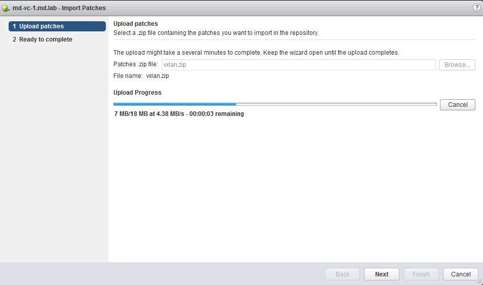 How to Install VMware NSX VIBS using Update Manager