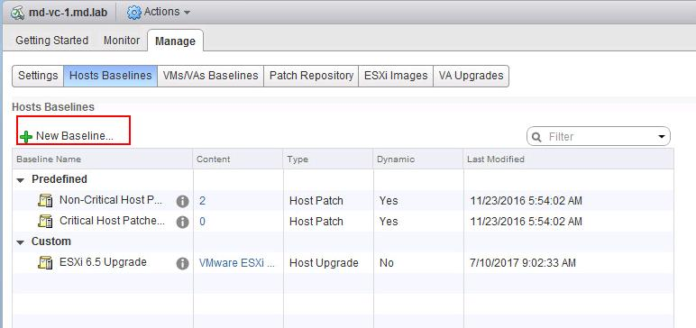 Install Vmware NSX VIBS using Update Manager_5