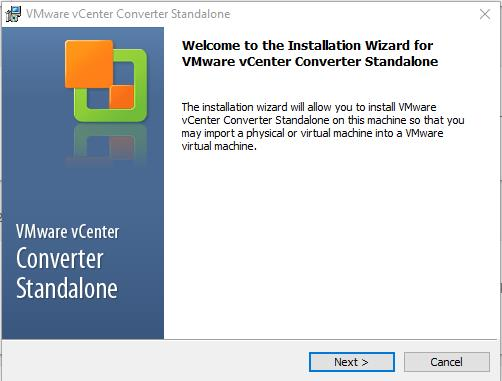 VMware Converter : How to perform P2V and V2V Migration