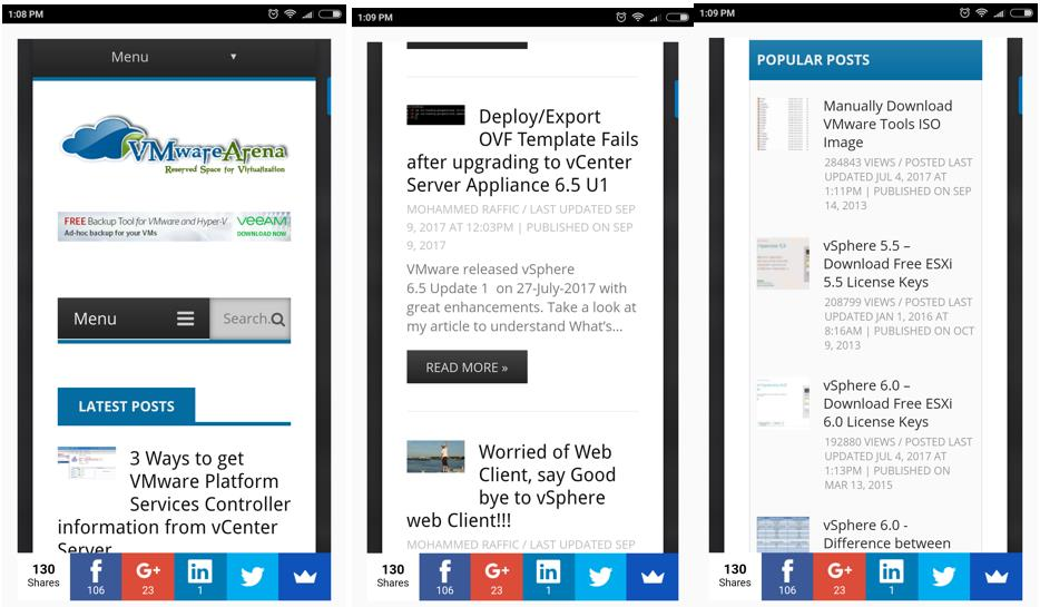 Top 5 Free Android Mobile App for VMware Administrators