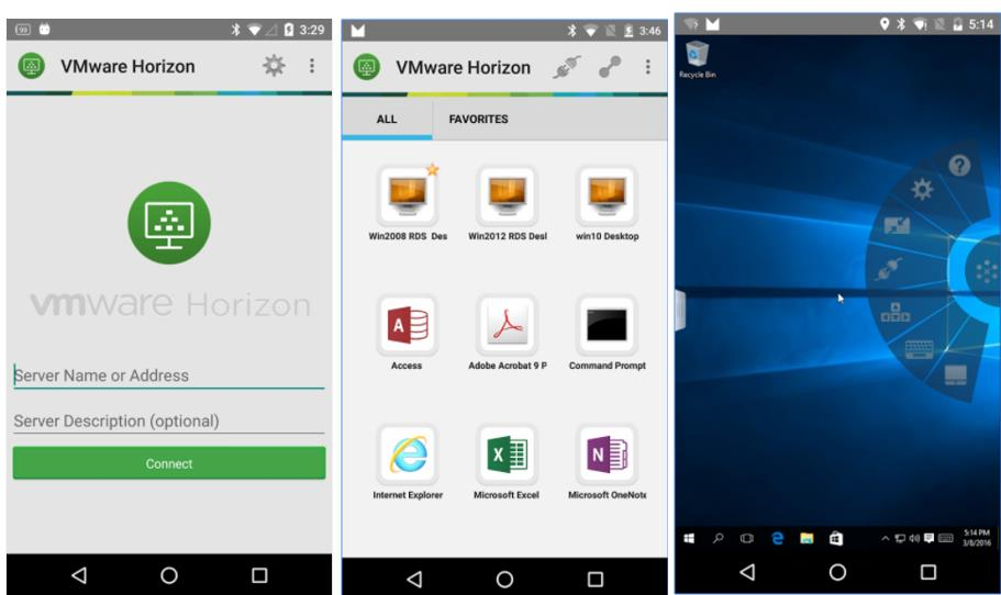 Top 5 Andriod Mobile App for VMware Administrators_VMware Horizon Client