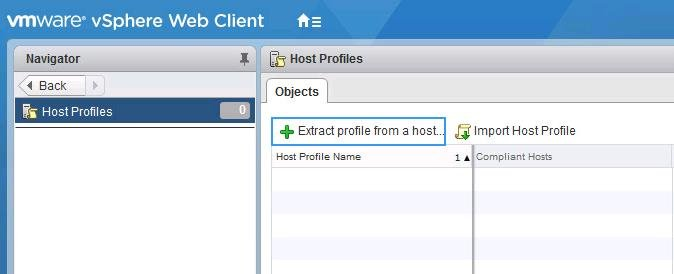 reset ESXi root Password using Host Profile