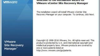 Install Site Recovery Manager 6.5