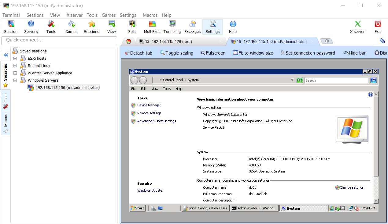 MobaXterm - Free Administrative Tool to Simplify Remote System
