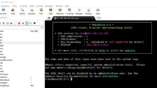 MobaXterm How to SSH