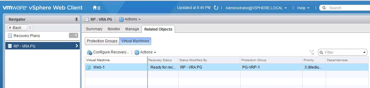 How to Customize IP address of individual SRM protected VM