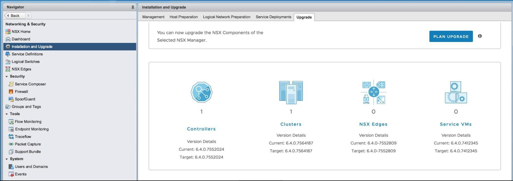 VMware NSX 6 4 0 (NSX for vSphere 6 4 0) Released