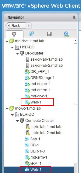 Perform Failover of vSphere replication based SRM recovery plan-6
