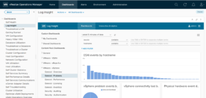 Top 21 Must-have VMware tools-VMware vRealize Log Insight