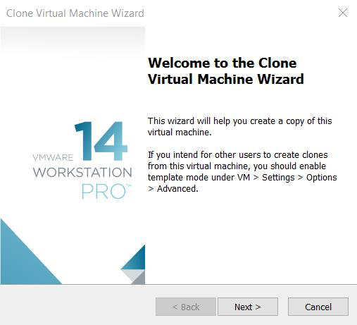Create a VM clone from a Snapshot