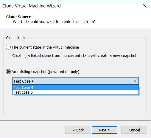 How to Create a VM Clone from a Snapshot in VMware Workstation