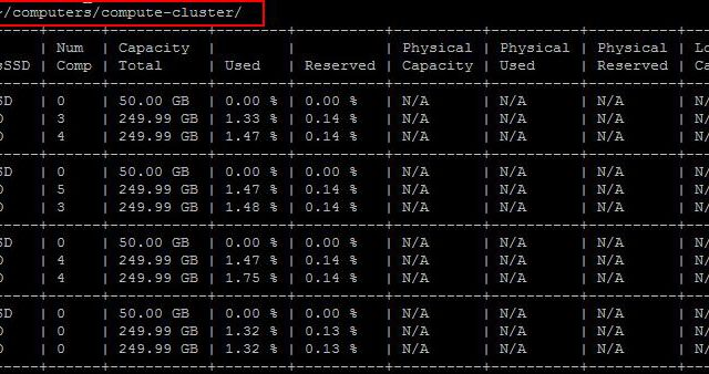 How to Monitor VSAN Disks using RVC Commands