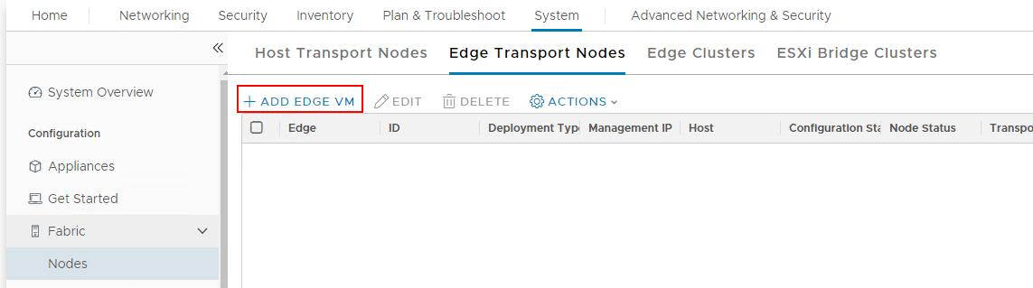 Deploy NSX-T Edge from NSX-T Manager UI - VMware NSX-T Part 17